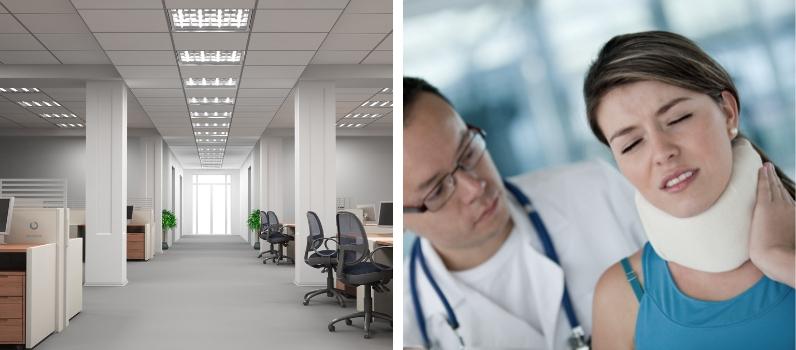 prevención de riesgos en oficinas